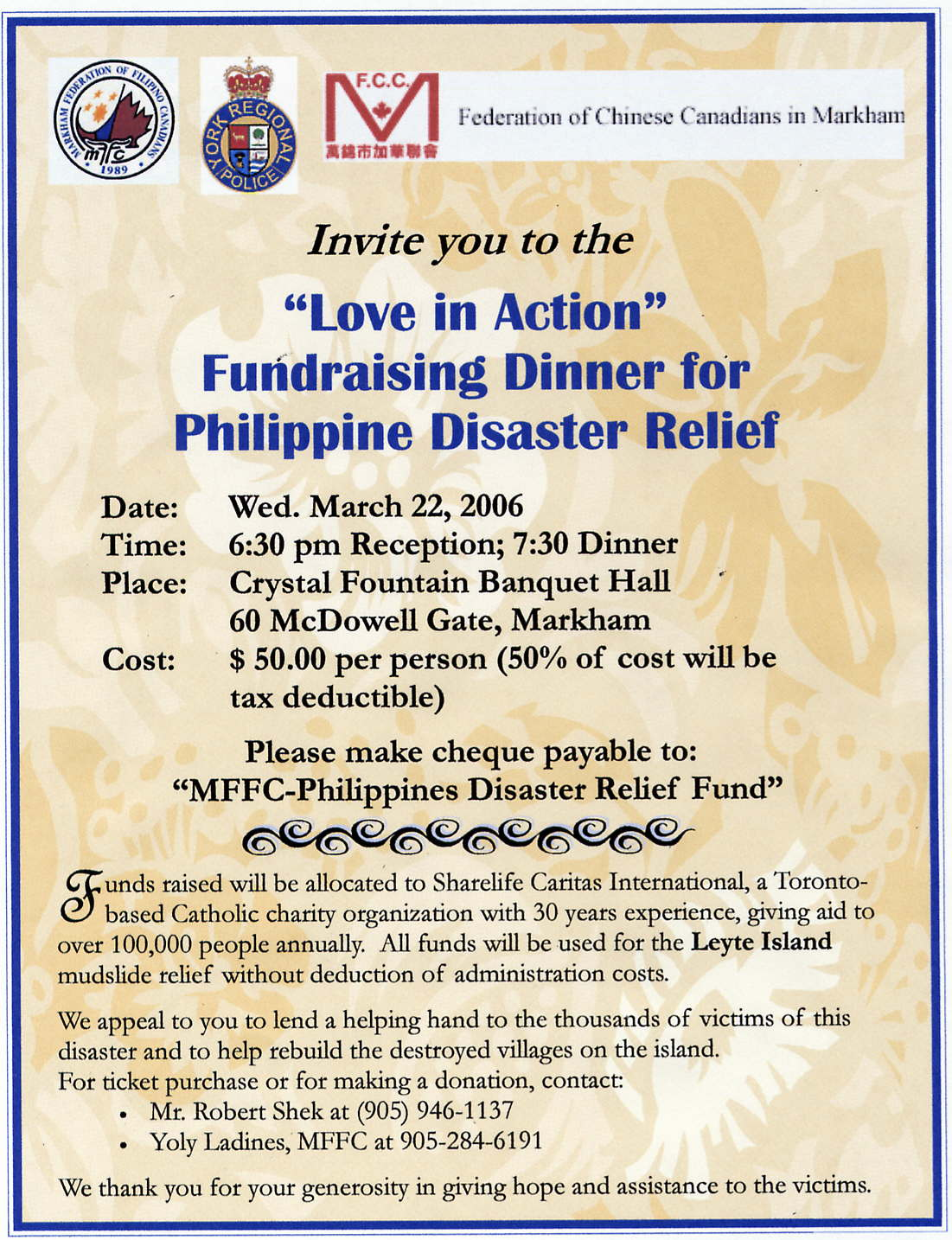 Love in Action Fundraising